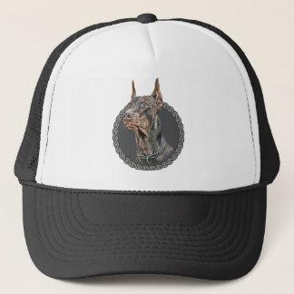 Doberman Pinscher 001 Trucker Hat
