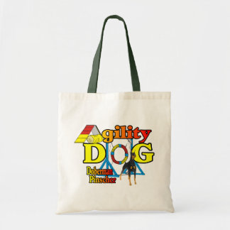 Doberman Pinscher Agility Gifts Tote Bag