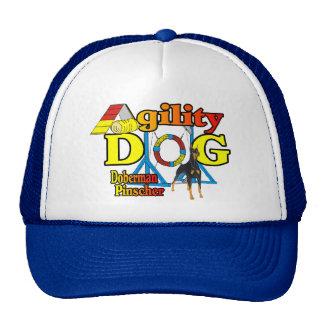 Doberman Pinscher Agility Gifts Trucker Hat