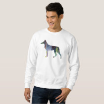 Doberman Pinscher Art Sweatshirt