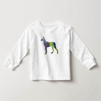 Doberman Pinscher Art Toddler T-shirt