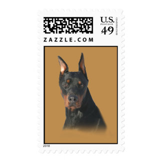 Doberman Pinscher Awesome Postage Stamp