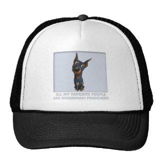 Doberman Pinscher (Black and Tan) Favorite Trucker Hat