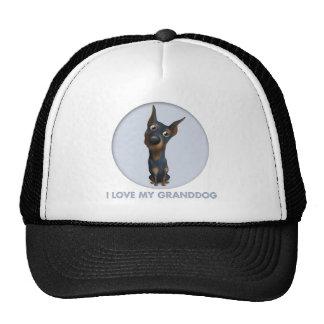 Doberman Pinscher (Black and Tan) Granddog Trucker Hat