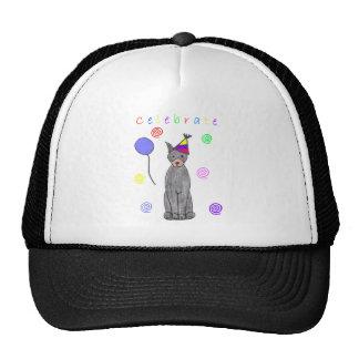 Doberman Pinscher Black Celebrate Trucker Hat