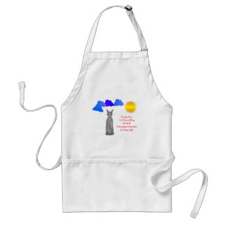 Doberman Pinscher Black Every Day Is A Good Day Adult Apron