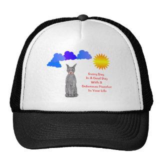 Doberman Pinscher Black Every Day Is A Good Day Trucker Hat