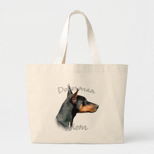 Doberman Pinscher (blk) Mom 2 Bag