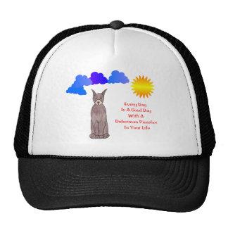 Doberman Pinscher Brown Every Day Is A Good Day Trucker Hat