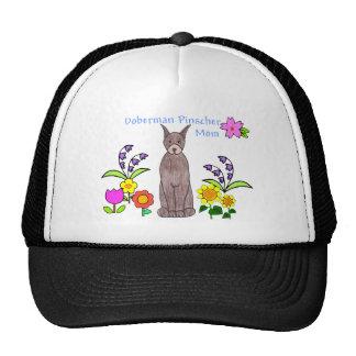 Doberman Pinscher Brown Mom Hat