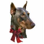 Doberman Pinscher Christmas Gifts Ornament Cut Outs