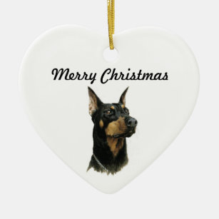 Doberman Ornaments & Keepsake Ornaments | Zazzle