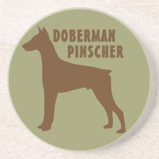 Doberman Pinscher Coaster