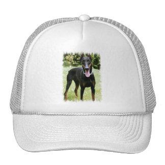 Doberman Pinscher Dog  Baseball Cap Trucker Hat