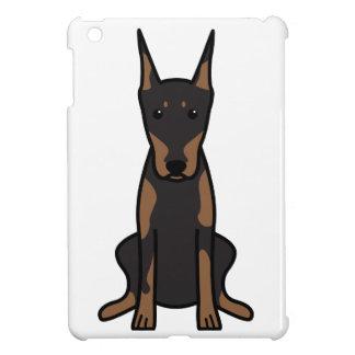 Doberman Pinscher Dog Cartoon iPad Mini Case