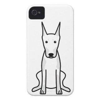 Doberman Pinscher Dog Cartoon iPhone 4 Cover