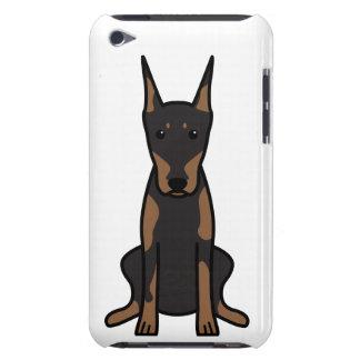 Doberman Pinscher Dog Cartoon iPod Touch Case-Mate Case
