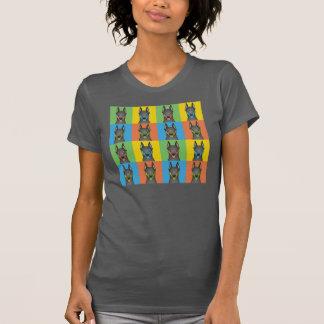 Doberman Pinscher Dog Cartoon Pop-Art T-Shirt