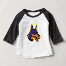 Doberman Pinscher Dog Mascot Baby T-Shirt