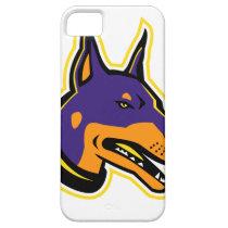 Doberman Pinscher Dog Mascot iPhone SE/5/5s Case