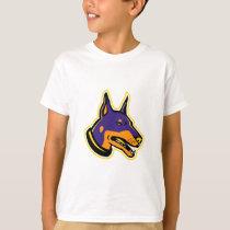 Doberman Pinscher Dog Mascot T-Shirt