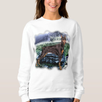 Doberman Pinscher Dog Sweatshirt