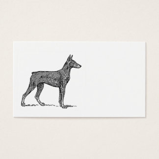 Doberman_Pinscher drawing.png Business Card