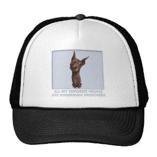 Doberman Pinscher (Fawn) Favorite Trucker Hat