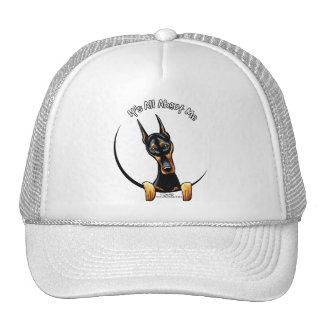 Doberman Pinscher IAAM Trucker Hat
