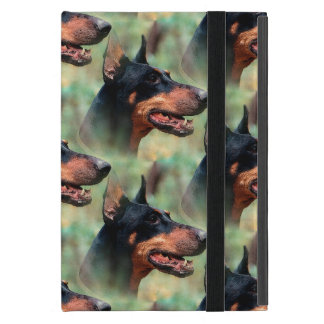Doberman Pinscher in the Woods iPad Mini Case