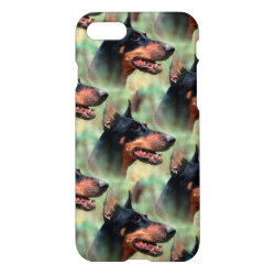 iPhone 7 Case with Doberman Pinscher Phone Cases design
