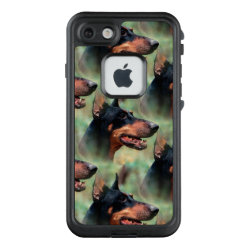 LifeProof® FRĒ® for iPhone® 5/5S/SE Case with Doberman Pinscher Phone Cases design