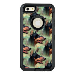 OtterBox Symmetry iPhone 6/6s Plus Case with Doberman Pinscher Phone Cases design