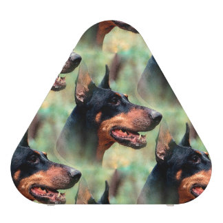 Doberman Pinscher in the Woods Speaker