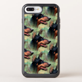Doberman Pinscher in the Woods Speck iPhone Case
