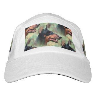 Doberman Pinscher in the Woods Headsweats Hat