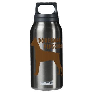 Doberman Pinscher Insulated Water Bottle