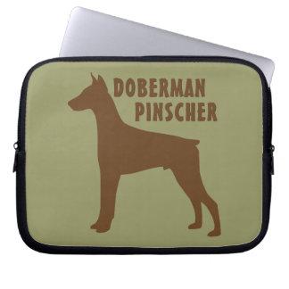 Doberman Pinscher Laptop Sleeve