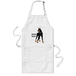 doberman pinscher long apron