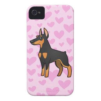 Doberman Pinscher Love pointy ears Blackberry Bold Cases