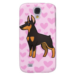 Case-Mate Barely There Samsung Galaxy S4 Case with Doberman Pinscher Phone Cases design