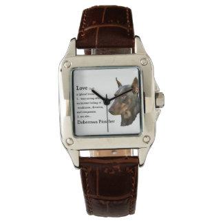 Doberman Pinscher Lovers Gifts Wrist Watches