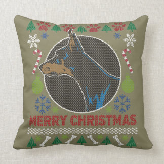 Doberman Pinscher Merry Christmas