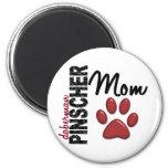 Doberman Pinscher Mom 2 Magnets
