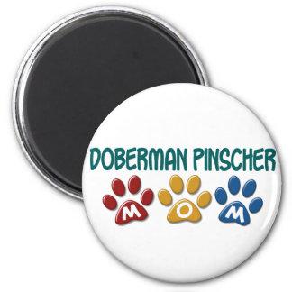 DOBERMAN PINSCHER Mom Paw Print 1 Magnets