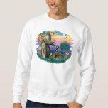 Doberman Pinscher (natural) Pullover Sweatshirt