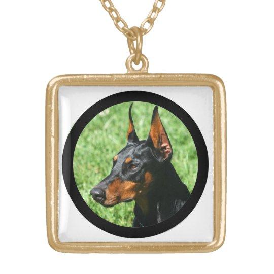 Doberman Pinscher necklace