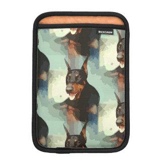 Doberman Pinscher Portrait Sleeve For iPad Mini