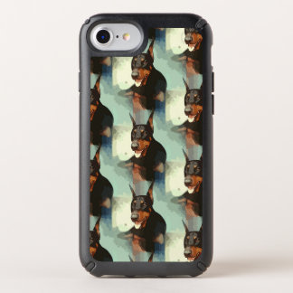 Doberman Pinscher Portrait Speck iPhone Case