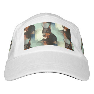 Doberman Pinscher Portrait Headsweats Hat